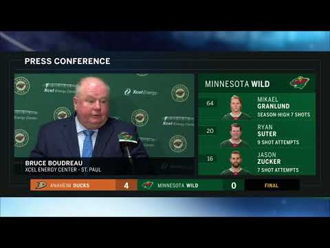 Mansour's Musings - I'm not going to be very cordial tonight. Boudreau frustrated after loss