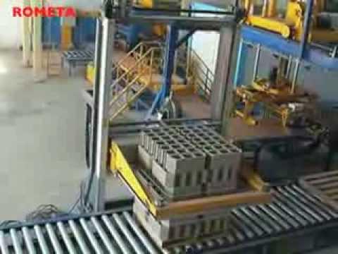 Machine de blocs b ton rometa 2050 youtube - Machine de fabrication de treillis a souder ...