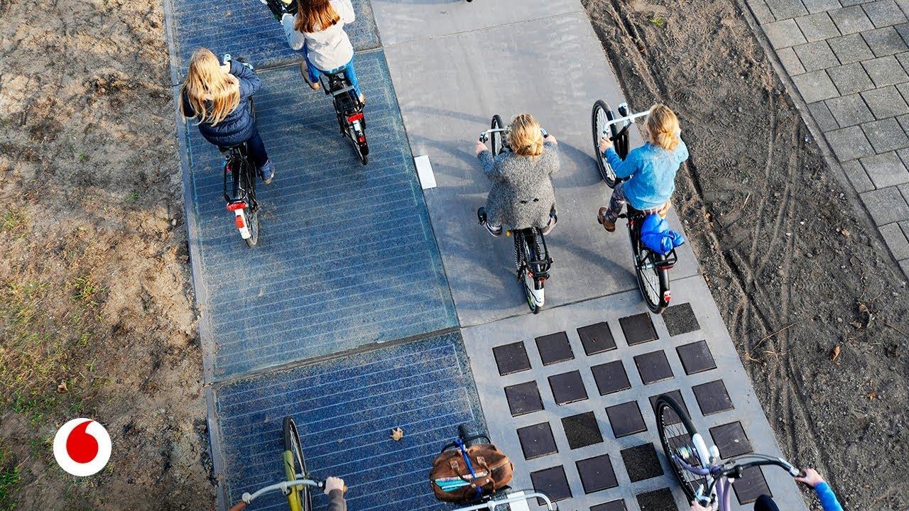 Carreteras inteligentes que generan energía solar