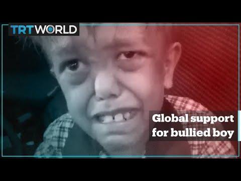 Global Support For Bullied Australian Boy