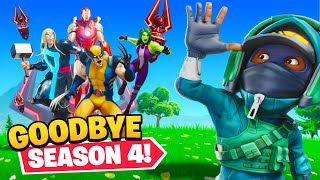GOODBYE Season 4...