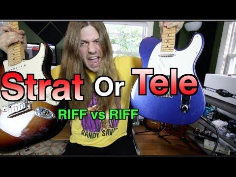 Strat or Tele RIFF vs RIFF! ( Are you team Strat or Tele?)