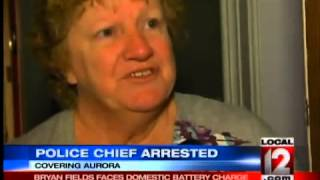 Aurora Police Chief Charged With Domestic Battery