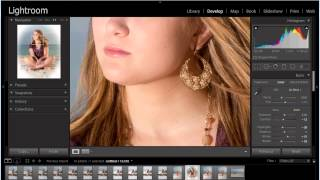 #2  Lightroom 5 Tutorial   Develop Module Basic Blemish Correction Using Spot Removal Tool