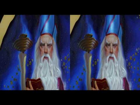 [3D SBS] The Pagemaster - Paint Scene
