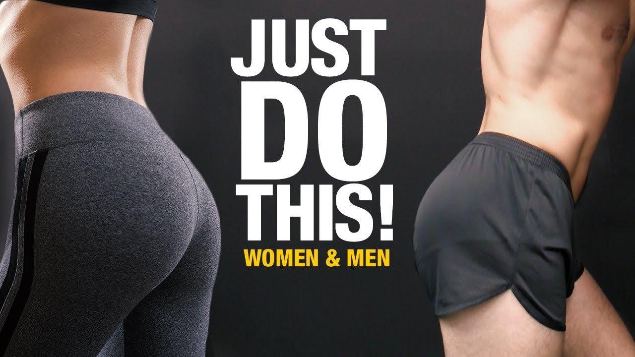 Butt Workout For Men Women