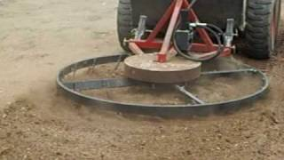 Repeat youtube video Douglas Rotary Harrow In Action!