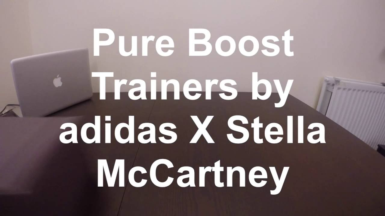Adidas da stella mccartney puro slancio le scarpe (donne) su youtube