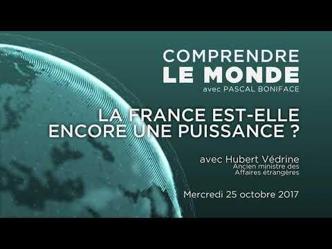 """Podcast Comprendre le monde #7 - H. Védrine - PARTIE 2 """"La France est-elle encore une puissance?"""""""