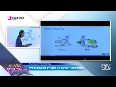 2016 InnoVEX Pi Stage-Product Demo by Start-Up Taiwan Accelerator