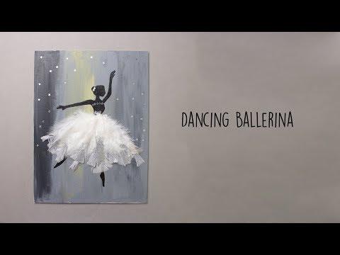 Dancing Ballerina | Canvas Art | Wall Decor