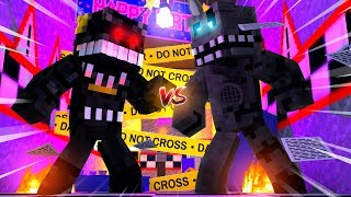 Nightmare VS Twisted Wolf! Minecraft FNAF Roleplay