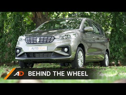 2019 Suzuki Ertiga GLX Black Edition - Behind the Wheel