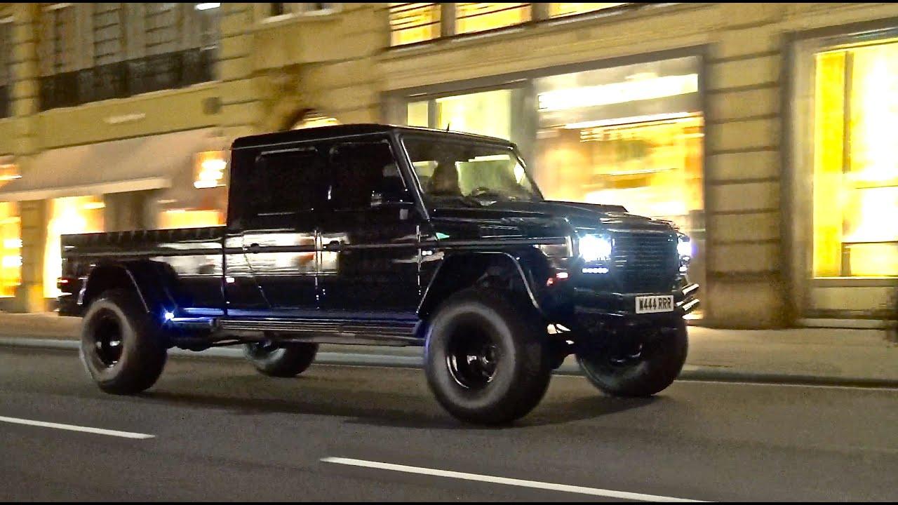 Mercedes G500 XXL by GWF in London   Huge Custom Gwagon ...