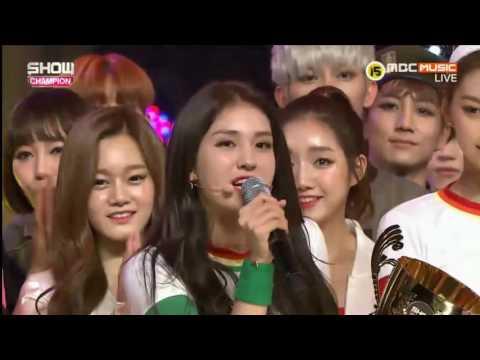 Kpop Idols dancing/singing to IOI songs ~