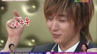 leeteuk's high tone and low tone ( eng sub)
