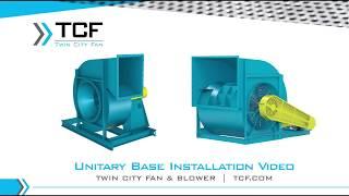 Unitary Base Installation Video - YouTube | Twin City Fan Wiring Diagram |  | YouTube
