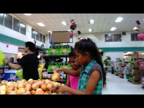 Shopping at majuro, Marshall islands
