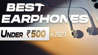 Top 5 Best Earphones Under 500 rs in 2020 | Review | in Hindi