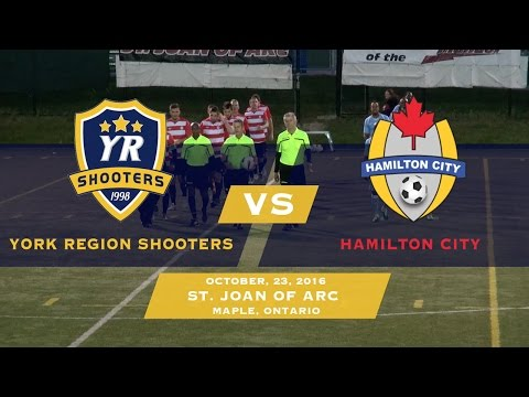 York Region Shooters vs Hamilton City | CSL Playoffs | 10/23/16