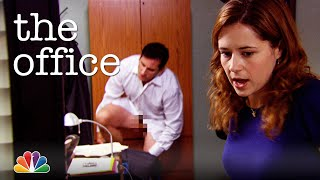 Pam Walks in on Michael - The Office