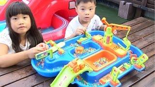 サンド&ウォーター プレイセット お水遊び 砂遊び おもちゃ アクアプレイ sand&water play set AMERICAN PLASTIC TOYS