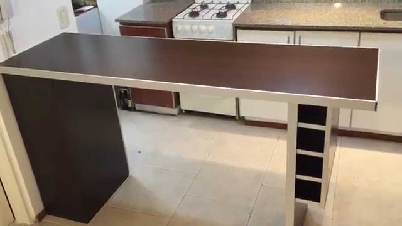 Desayunador divisor de ambientes fabrica en capital for Programa para hacer muebles de melamina gratis