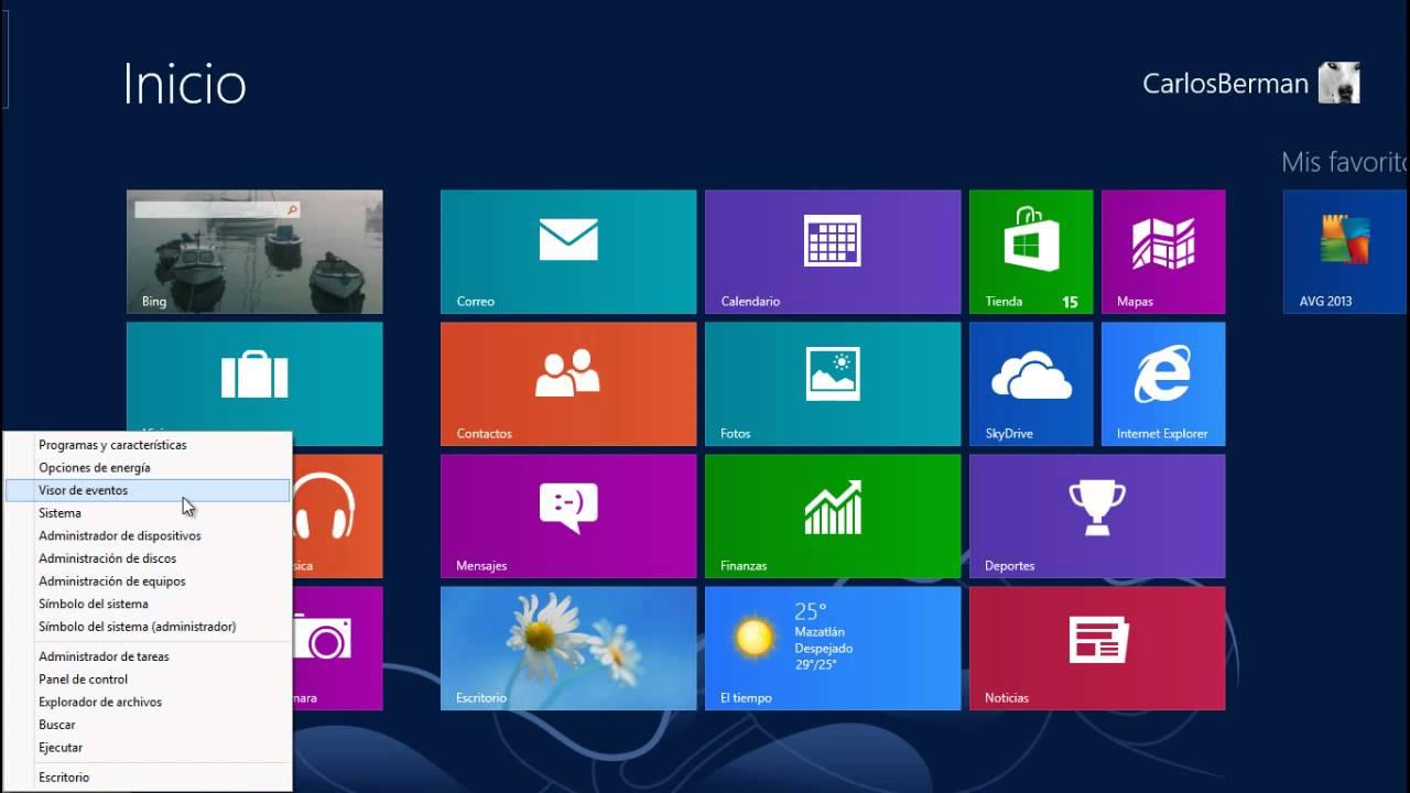 Tips, Trucos, Secretos Windows 8 El Menú de Acceso Rápido