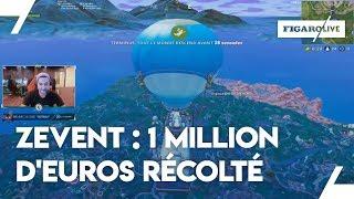 Zevent : des joueurs de jeux vidéo récoltent plus d'un million d'euros pour MSF