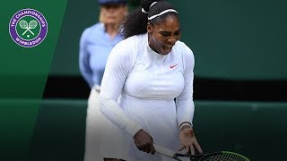 Serena Williams fights back to reach semi-finals | Wimbledon 2018