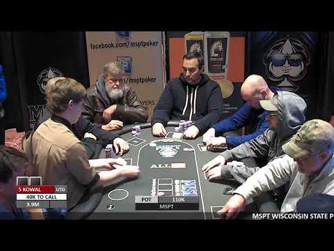 "Event #113 Potawatomi ""Wisconsin State Poker Championship"""