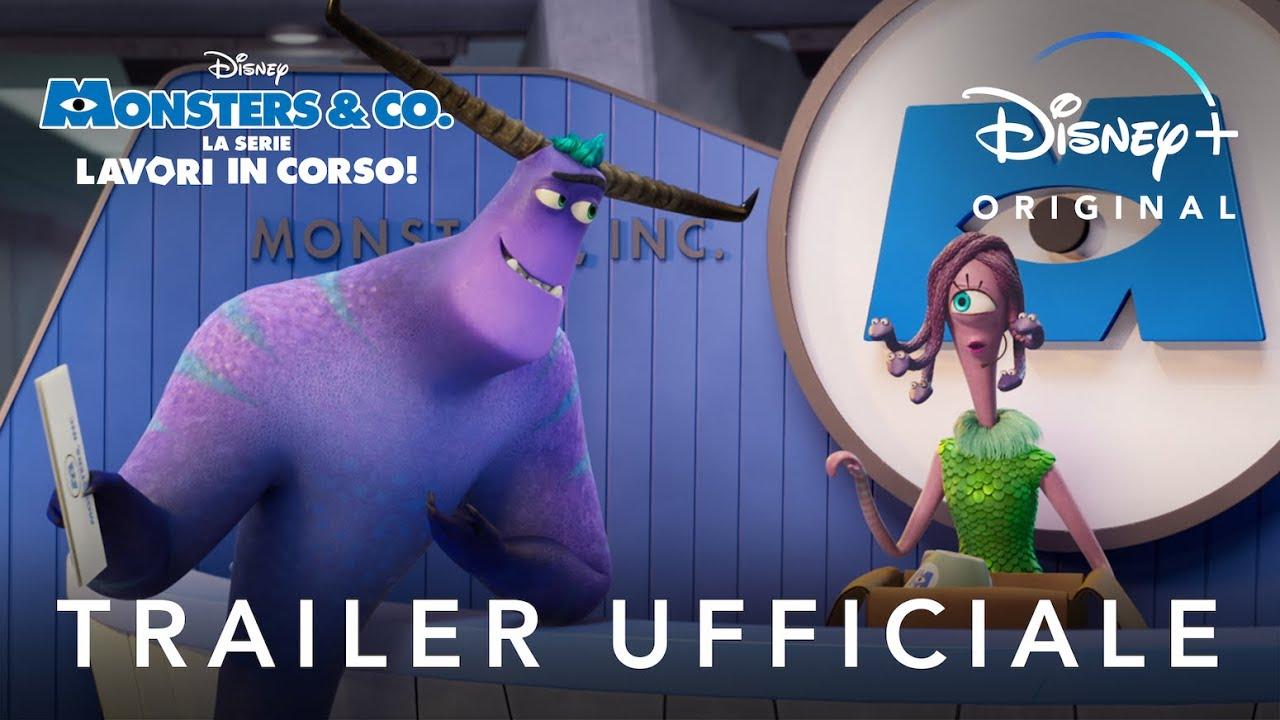 Disney+ ! Monsters & Co. La Serie - Lavori in Corso! - In Streaming dal 7 Luglio