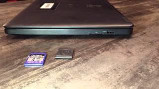 Comment utiliser une carte SD avec un ordinateur portable?