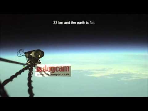 Amateur Footage of FLAT EARTH!!! 2016 No fake NASA CGI