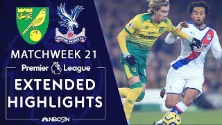 Norwich v. Crystal Palace | PREMIER LEAGUE HIGHLIGHTS | 1/1/20 | NBC Sports