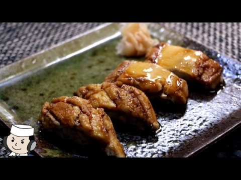 Sushi of Nianago♪ ~Conger eel Simmered in Sweetened Soy Sauce~