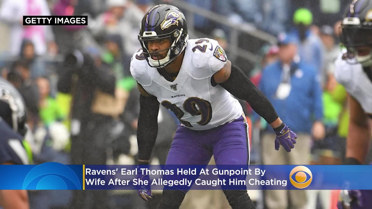 Ravens' Earl Thomas Held At Gunpoint By Wife After She Allegedly ...