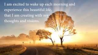 Daily Positive Morning Affirmations for Personal Transformation