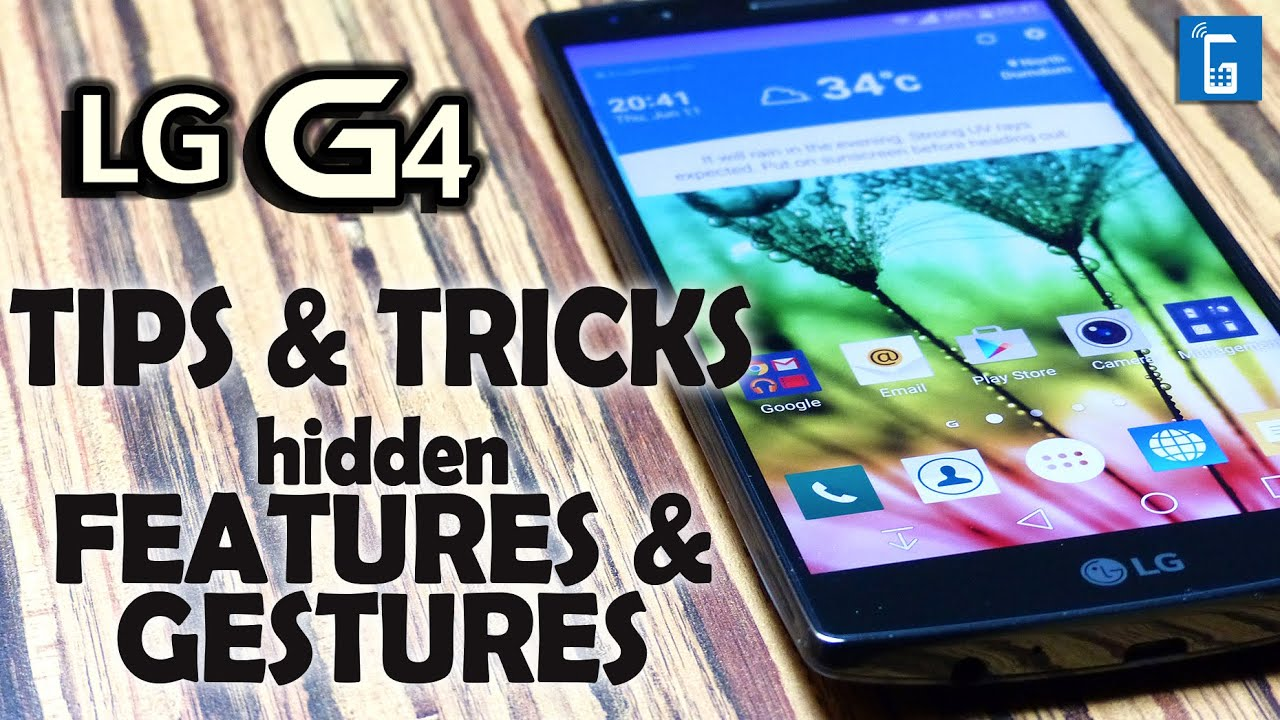 #01 LG G4 Tips & Tricks, Software Features that will blow your mind!
