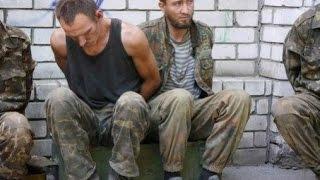 Моторола Пленные украинские военные Motorola Ukrainian military prisoners
