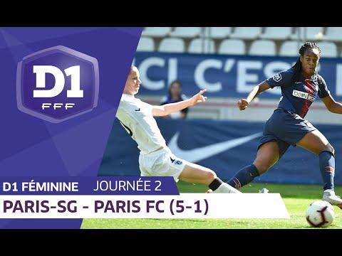 J2 : Paris SG -  Paris FC (5-1) / D1 Féminine