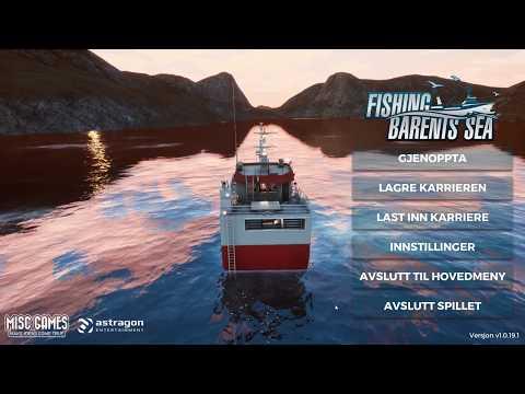 Radar! Fishing barents sea #9 Norsk!