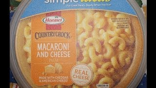 Hormel Country Crock Macaroni & Cheese Review