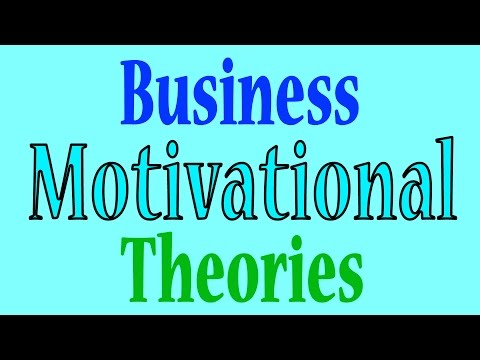 Business Motivational Theories