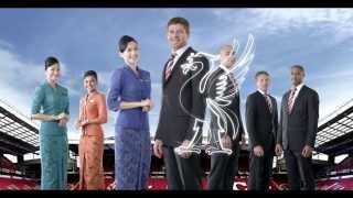 Garuda Indonesia - Official Global Airline Partner of Liverpool FC - 30s