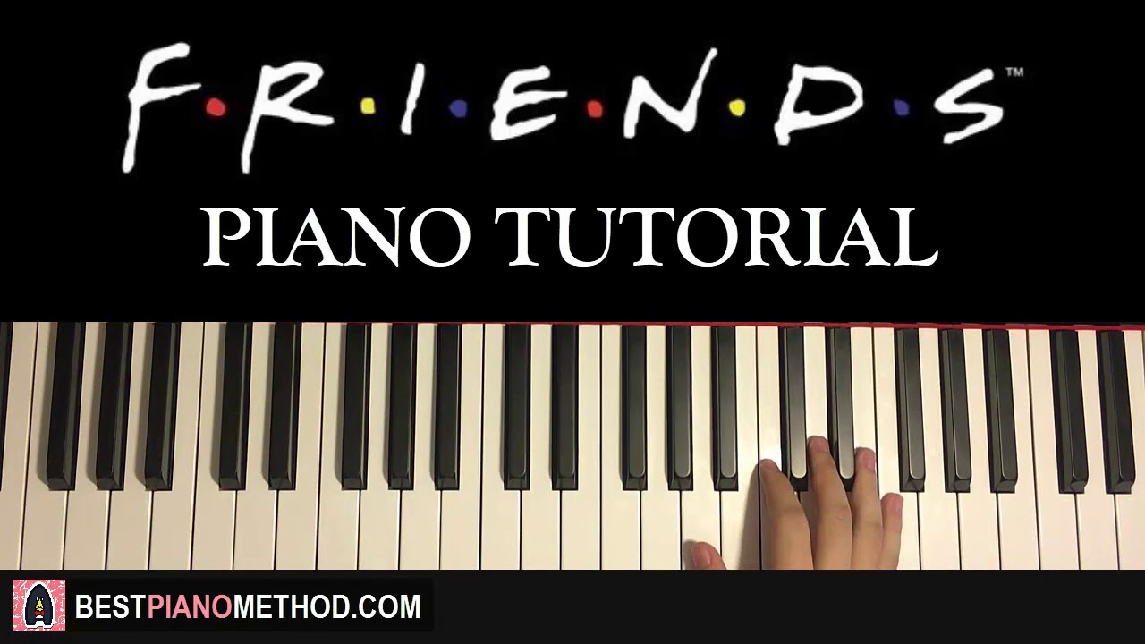 how to play friends theme song piano tutorial lesson youtube. Black Bedroom Furniture Sets. Home Design Ideas