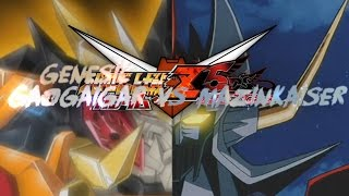 Genesic GaoGaiGar VS Mazinkaiser REBOOT BATTLE