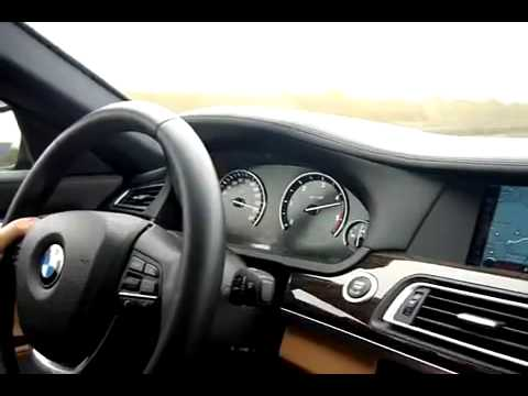 2009 BMW 730d F01 Top Speed