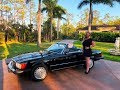 1988 Mercedes-Benz 560SL, 22K Miles, for sale by Autohaus of Naples