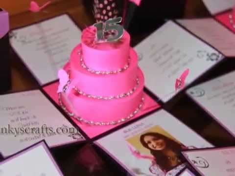 Unique Quinceanera Invitations - YouTube